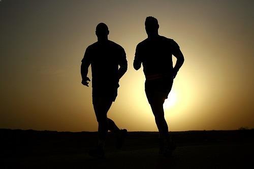 दौड़ के बाद