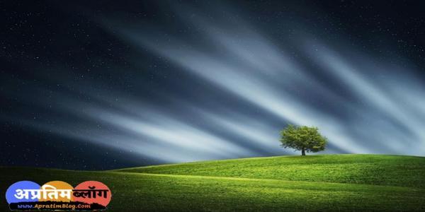 वृक्ष पर हिंदी कविता