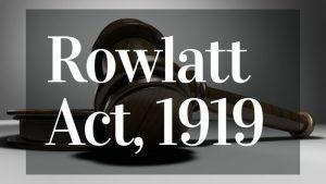 Rowlatt Act In Hindi