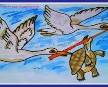 कछुआ और हंस पद्यकथा | Hans Aur Kachhua Ki Kahani Kavita Me