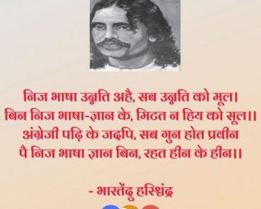 Hindi Diwas Quotes | 10 Hindi Quotes By Famous Personalities हिंदी कोट्स